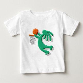 Kokopelli Native American Jump Shot Baby T-Shirt