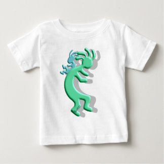 Kokopelli Native American Papoose Baby T-Shirt