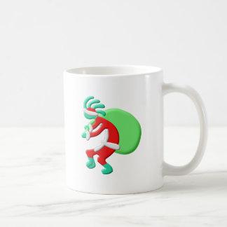 Kokopelli Native American Santas Sack Coffee Mug