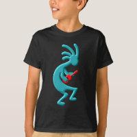 Kokopelli Native American Ukulele T-Shirt