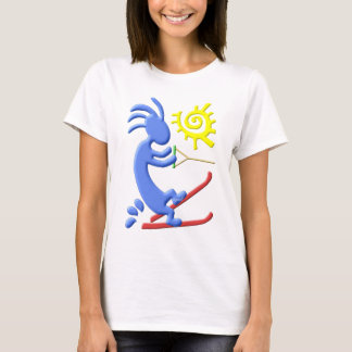 Kokopelli Native American Waterskier T-Shirt