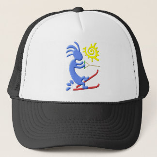 Kokopelli Native American Waterskier Trucker Hat