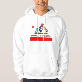 Kokopelli of California music Hooded Sweatshirt