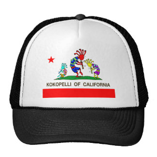 Kokopelli of California music Trucker Hat