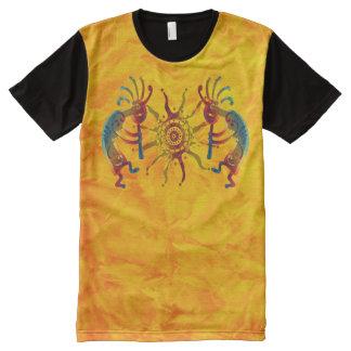 KOKOPELLI ornaments & Sun + your ideas All-Over-Print T-Shirt