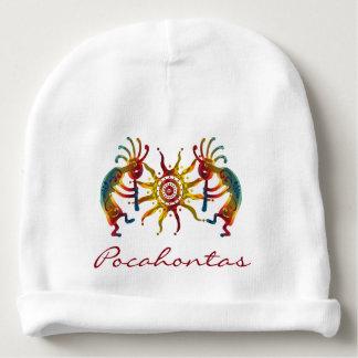 KOKOPELLI ornaments & Sun + your ideas Baby Beanie