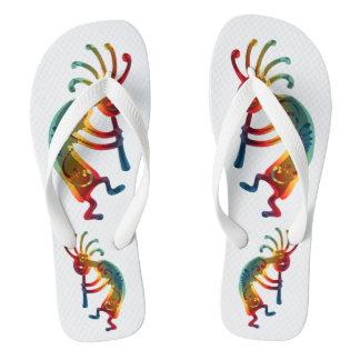 KOKOPELLI ornaments + your ideas Flip Flops