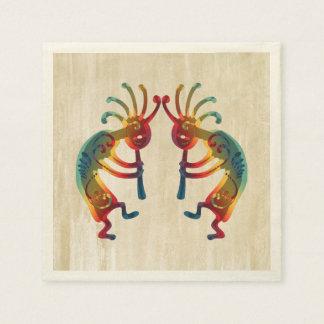KOKOPELLI ornaments + your ideas Paper Napkin
