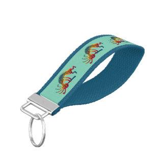 KOKOPELLI ornaments + your ideas Wrist Keychain