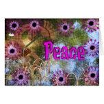 Kokopelli Peace Card