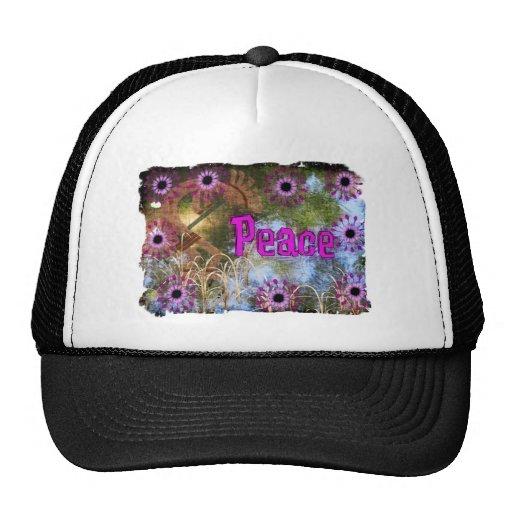 Kokopelli Peace Mesh Hats
