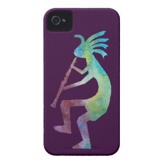 Kokopelli Plays the Clarinet iPhone 4 Cover