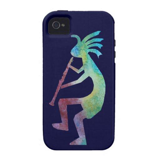 Kokopelli Plays the Clarinet iPhone 4/4S Case