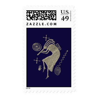 Kokopelli Postage Stamps