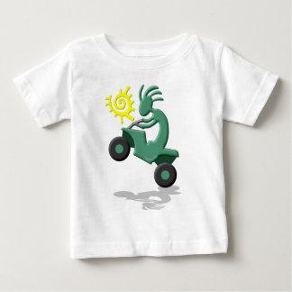 Kokopelli Quad ATV Baby T-Shirt