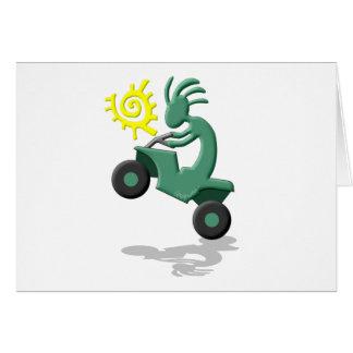 Kokopelli Quad ATV Card