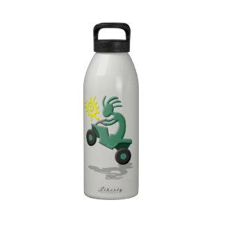 Kokopelli Quad ATV Drinking Bottle