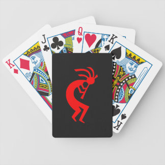 Kokopelli Red Bicycle Playing Cards