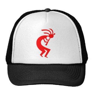 Kokopelli Red Trucker Hat