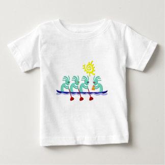 Kokopelli Rowing Baby T-Shirt