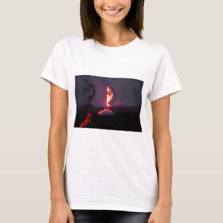 Kokopelli Shadows and Fire T-Shirt
