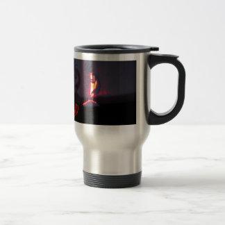 Kokopelli Shadows and Fire Travel Mug