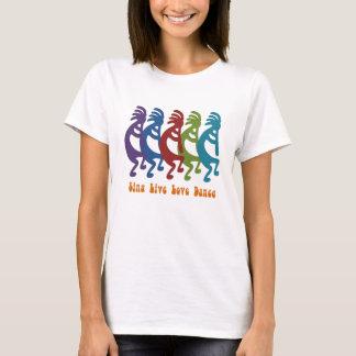 Kokopelli - Sing Live Love Dance T-Shirt