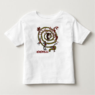 Kokopelli & Spiral - Kid's T-Shirt #1