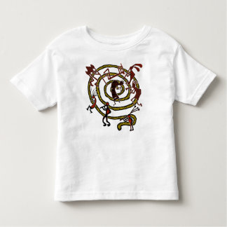Kokopelli & Spiral - Kid's T-Shirt #2