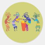 Kokopelli Stickers Sticker