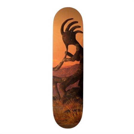 Kokopelli Sunset Skate Deck