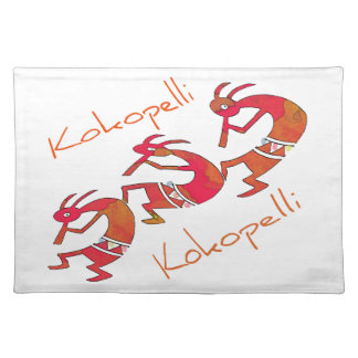 Kokopelli - The Flute Player gifts Place Mat