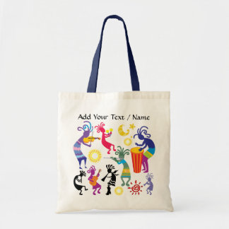 "Kokopelli ""Theme"" Tote by SRF"
