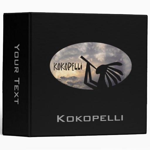 Kokopelli trae la carpeta de la lluvia
