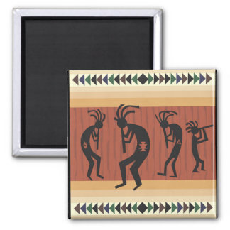 Kokopelli Tribal Design Magnet