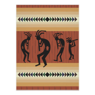 Kokopelli Tribal  Print