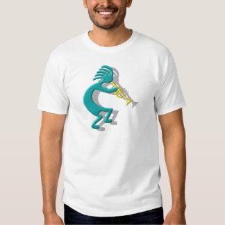 Kokopelli Trumpet T Shirt