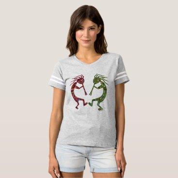 Aztec Themed KOKOPELLI Twins Unleashed! T-shirt