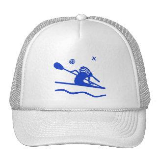 Kokopelli Whimsical Kayak Cap Trucker Hat