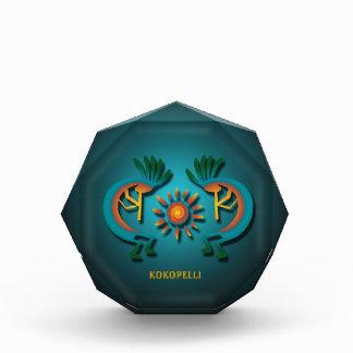 Kokopelli with Sun Acrylic Acrylic Award