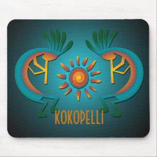 Kokopelli with Sun Southwest Mousepad Template