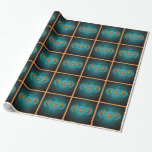 Kokopelli with Sun Wrapping Paper Gift Wrapping Paper