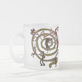 Kokopelli y espiral - taza #8