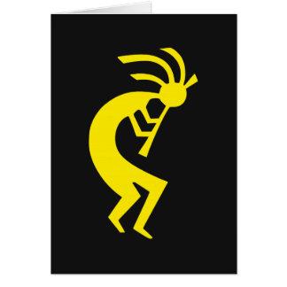 Kokopelli Yellow Card