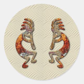 """""""Kokopelli's Flute"""" Stickers"""