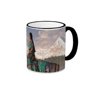 Kokopelmana Ringer Coffee Mug
