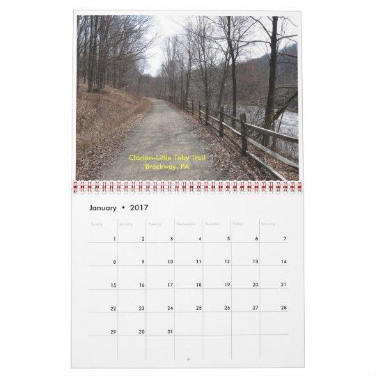 Kokosing Gap Trail (4), Sights Along The Bike T... Calendar