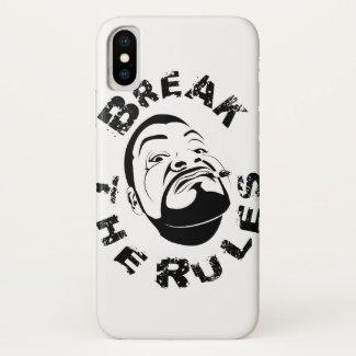 Koksmann Break the Rules... iPhone X Case