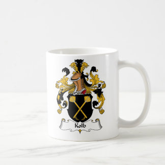 Kolb Family Crest Classic White Coffee Mug