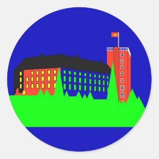 Koldinghus Palace - Color Classic Round Sticker